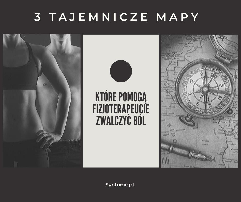 3 mapy, które pomogą fizjoterapeucie zwalczyć ból u swoich pacjentów.